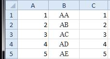 Excel Numbers to/from Double Letters